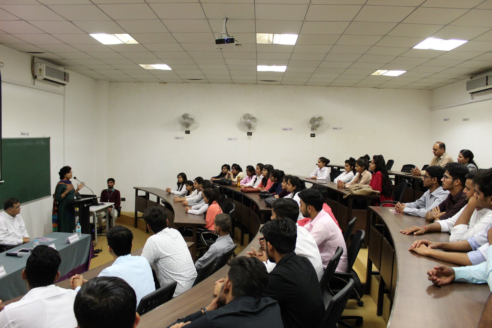 Aryan College Students visited SBS Ahmedabad