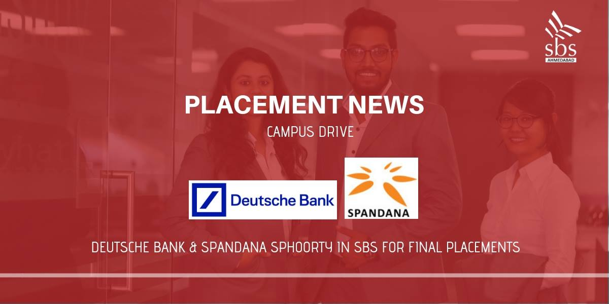 PLACEMENT NEWS Deutsche Bank & Spandana Sphoorty in SBS for Placement