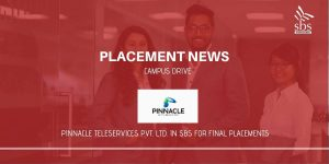 PLACEMENT NEWS - Pinnacle Teleservices Pvt. Ltd. in SBS