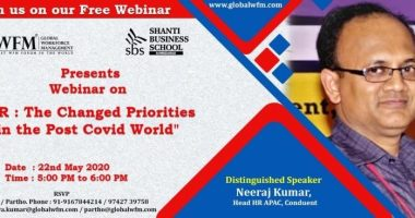 Invitation for HR Webinar